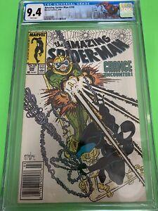 Amazing Spider-Man #298 CGC 9.4 NEWSSTAND 1st Eddie Brock!
