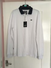 Peaceful Hooligan Gallagher Long Sleeved Polo Shirt Large