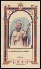 santino-holy card B.GUGLIELMO DE LOARTE mercedario