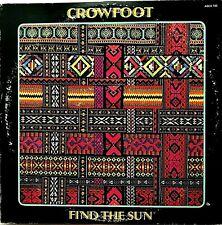 "CROWFOOT ""Find The Sun"" Vinyl LP - 1st Press 1971 ABCS 745 - EX / VG+"