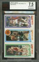 1980-81 topps #4 24 HAWES/32 ARCHIBALD TL/248 ELVIN HAYES bullets BGS BVG 7.5