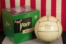 Vintage 1960s Voit AMF Official Volleyball LV4 Ball w/ Original Box Rubber Nice!