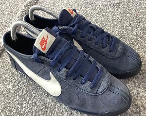 Rare Vintage Nike Cortez Classic OG Nylon UK6 deadstock casuals terrace Hipster