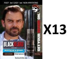 Blackbeard for Men Hair Colour Mascara Beard Moustache Eyebrows Dark Brown X13