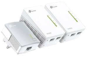 AV600 Powerline WiFi Range Extender Triple Kit - TP-LINK