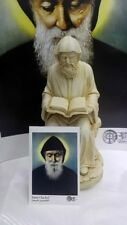 St. Charbel Makhlouf of Lebanon Holy Statue Figurine Sharbel 12' + a card gift