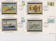 BENHAM SILK FALKLAND ISLANDS FIRST DAY COVER SET FDI 1983 LIBERATION ANNIVERSARY