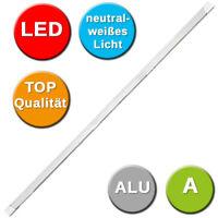 LED Lichtleiste 123 cm lang 20W LED Unterbauleuchte Unterschrank Lampe 230 V Alu