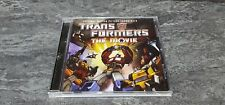 Transformers The Movie CD Album 20th Anniversary Edition Soundtrack GREAT COND