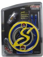 NEW STINGER SELECT SS1200XS 4 GAUGE OFC CAR AMPLIFIER AMP INSTALL WIRING KIT RCA