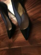 Michael Kors Metallic Gold High Heal Mid Pump pointy Ladies Shoes Uk Size 5