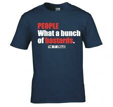 """THE IT CROWD """"BUNCH OF B*!*#*DS"""" T SHIRT NEW"""