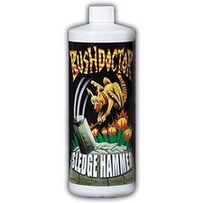 Fox Farm Bushdoctor Sledge Hammer1 Quart qt 32oz - nutrient rinse foxfarm flush