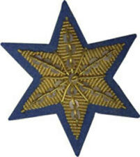 Civil War Union Horse Saddle Uniform Insignia Star Shabraque CSA Cavalry Patch