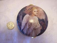 "Ardleigh Elliott music box angel ""LOVE"" 1998 signed Garden of innocence vintage"