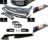 PARECHOC PARE CHOC AVANT M3 EN ABS BMW SERIE 3 E36 + ANTIBROUILLARD + DIFFUSEUR