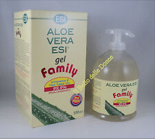 ESI ALOE VERA GEL 500ml + vitamina E e Tea Tree oil x pelle delicata ecoriazioni