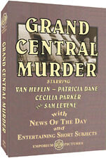 Night At The Movies With Grand Central Murder On DVD W/ FREE SHIPPING!