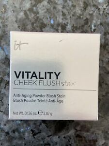 IT Cosmetics Vitality Cheek Flush Stain  Powder Blush Shade Magical In Mauve NIB