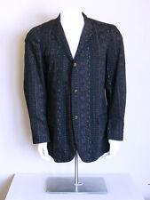 vtg 50s atomic stoneage TIKI OASIS hawaiian ROCKABILLY psychobilly BATIK jacket