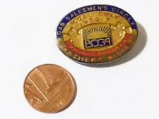 Silver Past Chairman GAS SALESMEN'S CIRCLE 1936-7 Enamel Badge Fitted Box #W12