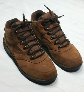 Cabela's Dry-Plus X4 Hiking Brown Leather Boots Men's Size 12EE