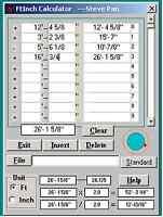 FtInch Calculator