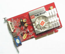 NEW ATI Radeon 9550 AGP 4X 8X 256MB Video Graphics Card VGA Windows 7 vista XP