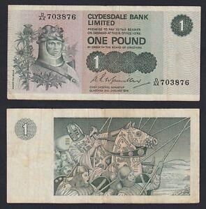 Scozia 1 pound 1979 BB/VF  C-07