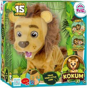 Kokum The Interactive Lion Train & Teach 15 Orders Voice Active Club Petz Toys