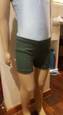 MakAmy Girls Bottle Green Cotton Bike Shorts School uniform sz8 BNWOT (31)