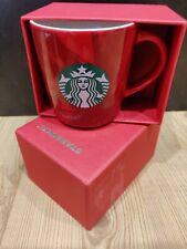 NEW With Box Starbucks Red Cup 3 oz Espresso Coffee Mug 2015 Mermaid