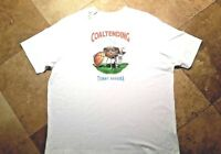 *NWT Tommy Bahama Relax Short Sleeve Graphic Tee Shirt Cotton White S