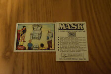 Mask Panini sticker 1986 ( M.A.S.K.  Kenner parker toys ) number 262