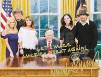 PRESIDENT DONALD TRUMP PALIN PERSONALIZED AUTOGRAPH SIGNATURE 8X10 PHOTO PICTURE