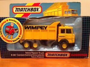 VINTAGE MATCHBOX SUPERKINGS IVECO TIPPER TRUCK
