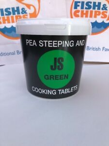 Green Pea Steeping And Cooking Tablets X160 Drywite JSG fish and chip