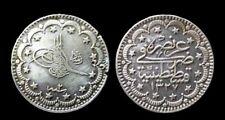 Turquie 5 Kurus  Argent/Silver 5,90grammes KM#80B