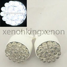 3157 Bright White LED 19 Round 3157A 3057A 3457A 4157NA Bulbs #w9 Parking Light