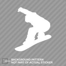 Snowboarder Sticker Decal Vinyl snowboarding grom #1