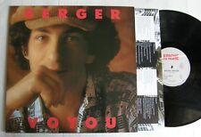 MICHEL BERGER (LP 33T)  VOYOU