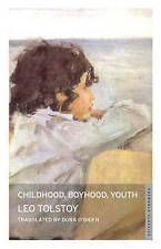 Childhood, Boyhood, Youth by Leo Tolstoy (Paperback) New Book