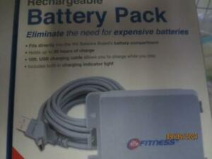 24Hour Fitness by Dreamgear rechargeable battery pack for Wii Fit & Wii Fit plus