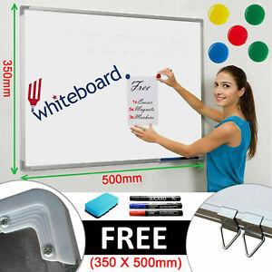 MAGNETIC DRY WIPE WHITEBOARD DRAWING BOARD MEMO NOTICE ERASER PEN OFFICE SCHOOL
