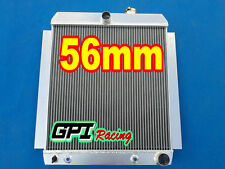 For 1948-1954 Chevy Pickup Truck Aluminum Radiator AT MT 1949 1950 1951 1952 53