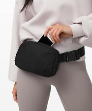 NWT Lululemon Everywhere Belt Bag *1L Black Fanny Waist Pack Shoulder crossbody