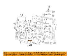 GM OEM Side Sliding Door-Roller Bracket 20814566