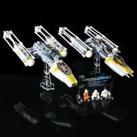 Custom Display Stand & UCS Plaque for LEGO 9495 7658 Y-wing Starfighter