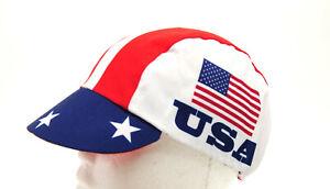 "World Jersey Cycling Cap ""USA FLAG"""