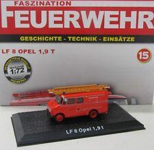 Opel LF 8 1,9 T ( Feuerwehr 1960 ) De Agostini 1:72